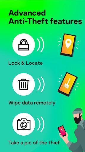 Kaspersky Mobile Antivirus: AppLock & Web Security - عکس برنامه موبایلی اندروید