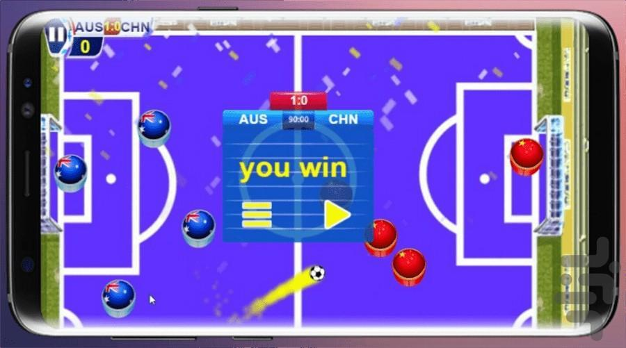 فوتبال 3 - عکس بازی موبایلی اندروید