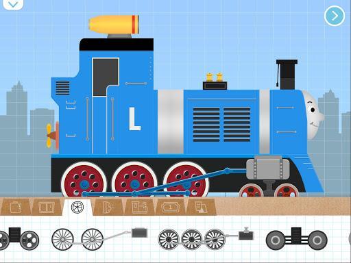 Labo Brick Train Build Game 4 Kids, Toodlers, Baby - عکس بازی موبایلی اندروید