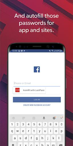 LastPass Password Manager - Image screenshot of android app