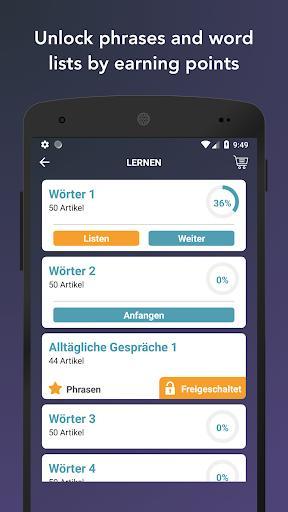 Learn English Vocabulary | Verbs, Words & Phrases - عکس برنامه موبایلی اندروید