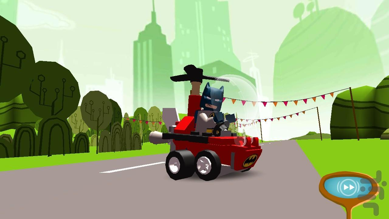 لگو بتمن و سوپرمن - عکس بازی موبایلی اندروید