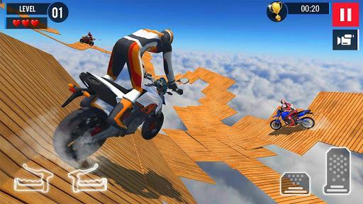 Bike Stunt Games 2019 - عکس بازی موبایلی اندروید