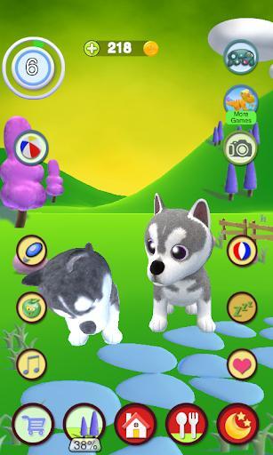 Talking Husky Dog - عکس بازی موبایلی اندروید