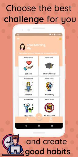 21 Days Challenge - Life Changing Habits - عکس برنامه موبایلی اندروید