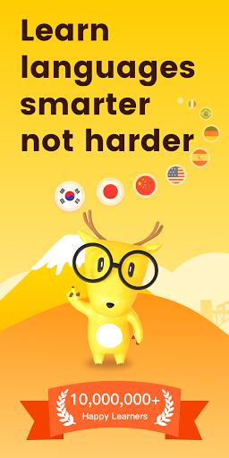 Learn Korean, Learn Japanese, Chinese - LingoDeer - عکس برنامه موبایلی اندروید