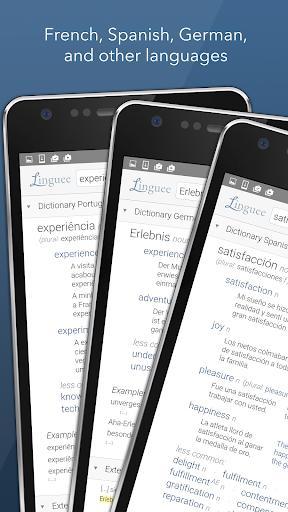 Dictionary Linguee - عکس برنامه موبایلی اندروید