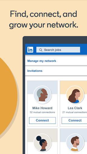 LinkedIn: Jobs, Business News & Social Networking - عکس برنامه موبایلی اندروید