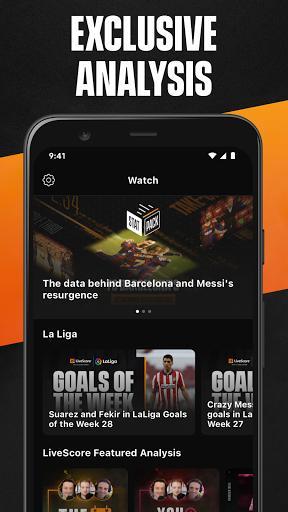 LiveScore: Live Sports Scores - عکس برنامه موبایلی اندروید