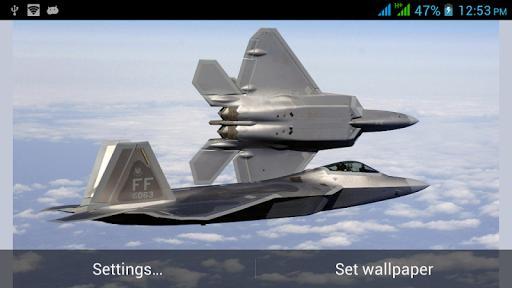 Military Aircraft Live Walls - عکس برنامه موبایلی اندروید