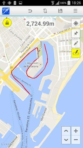 Maps Distance Calculator - عکس برنامه موبایلی اندروید