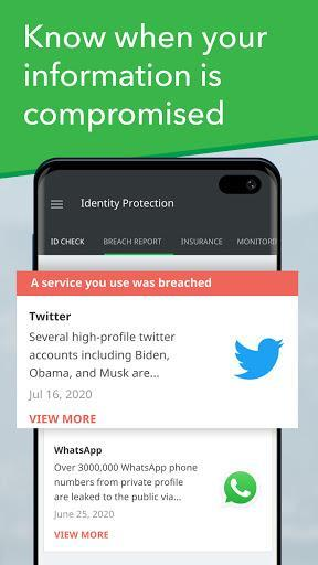 Mobile Security - Lookout - عکس برنامه موبایلی اندروید