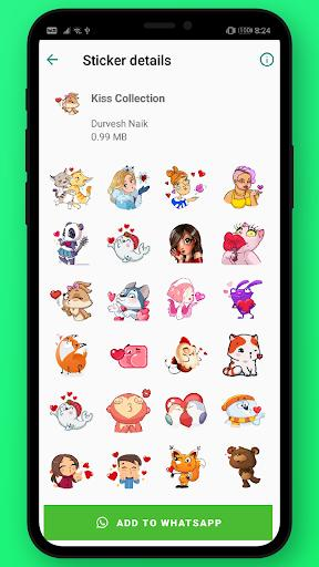 Love couple stickers for WhatsApp (WAStickerapps) - عکس برنامه موبایلی اندروید