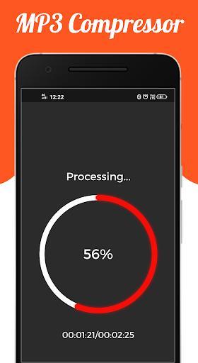 Audio : MP3 Compressor - عکس برنامه موبایلی اندروید