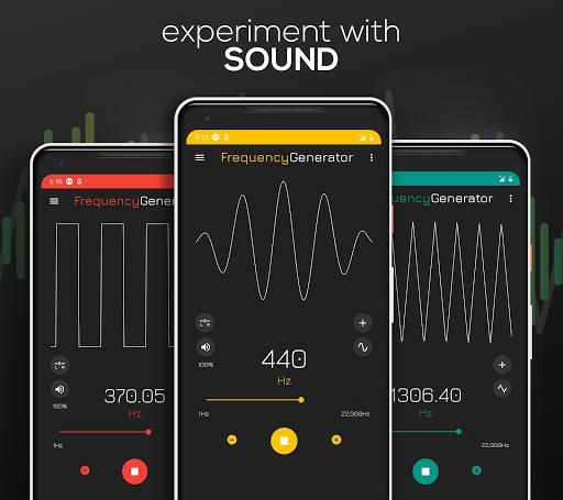 Frequency Sound Generator - عکس برنامه موبایلی اندروید