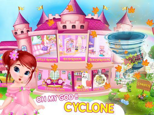 Princess House Cleanup For Girls: Keep Home Clean - عکس بازی موبایلی اندروید