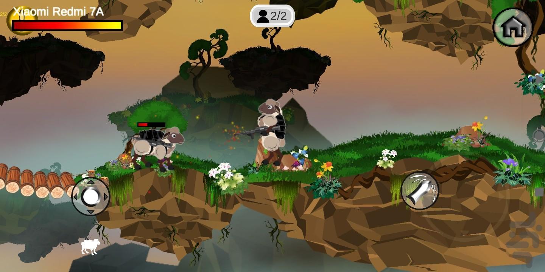 جنگ گوسفندان - عکس بازی موبایلی اندروید
