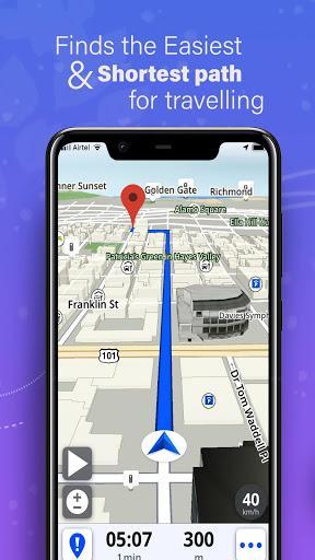 GPS, Maps, Voice Navigation & Directions - عکس برنامه موبایلی اندروید