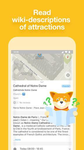 MAPS.ME – Offline maps, guides and navigation - عکس برنامه موبایلی اندروید
