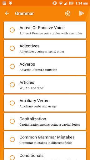 English Grammar Ultimate - عکس برنامه موبایلی اندروید