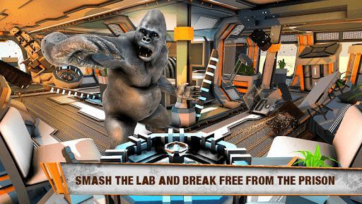 Gorilla Smash City Big Foot Monster Rampage - عکس بازی موبایلی اندروید