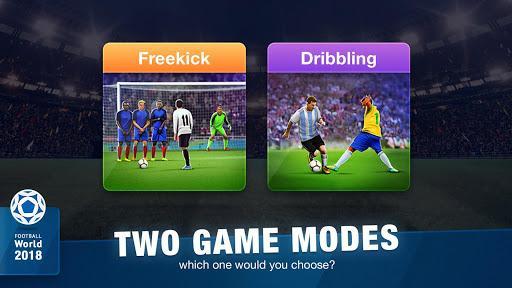 FreeKick Soccer 2020 - عکس بازی موبایلی اندروید