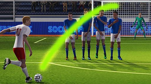 Soccer World League FreeKick - عکس بازی موبایلی اندروید