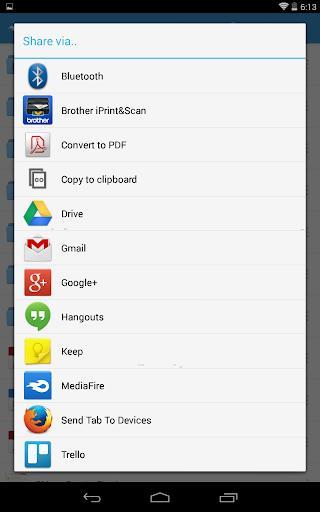 MediaFire - عکس برنامه موبایلی اندروید