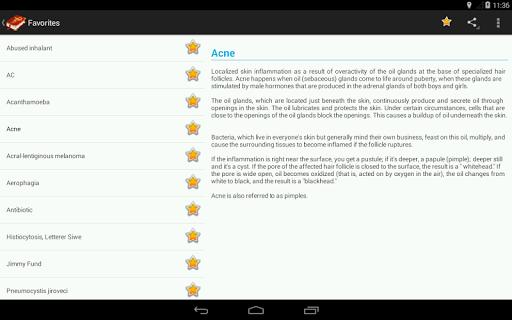 Medical Terminology Dictionary:Search&Vocabulary - عکس برنامه موبایلی اندروید
