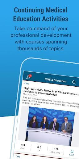 Medscape - عکس برنامه موبایلی اندروید