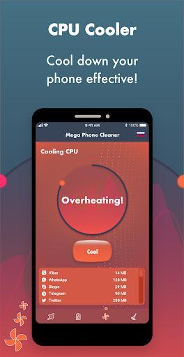 Mega Phone Cleaner - Clean & Boost - عکس برنامه موبایلی اندروید