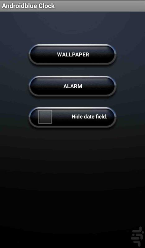 ویجت ساعت زنگدار - عکس برنامه موبایلی اندروید