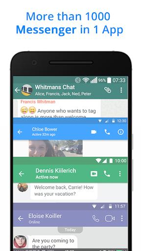 The Messenger for Messages, Text, Video Chat - عکس برنامه موبایلی اندروید