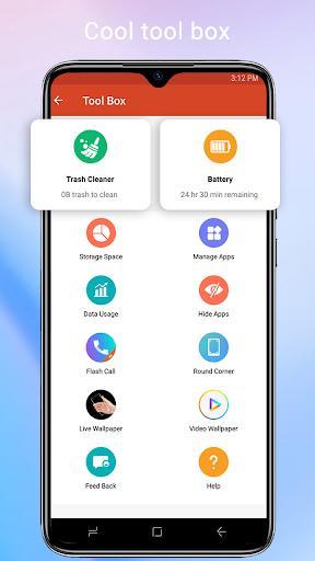 Cool Mi Launcher - CC Launcher 2021 for you - عکس برنامه موبایلی اندروید