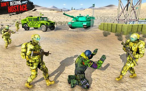 Real Commando Mission Game: Real Gun Shooter Games - عکس برنامه موبایلی اندروید