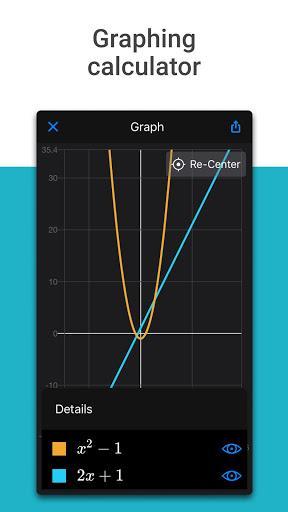 Microsoft Math Solver - حل مسئله مایکروسافت - عکس برنامه موبایلی اندروید
