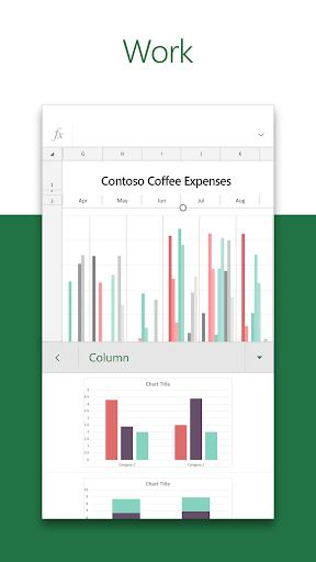 Microsoft Excel: View, Edit, & Create Spreadsheets - Image screenshot of android app
