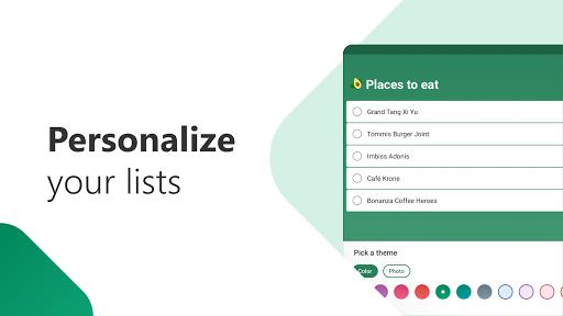 Microsoft To Do: List, Task & Reminder - لیست کارهای روزانه - عکس برنامه موبایلی اندروید