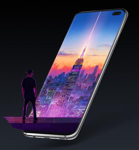 3D Parallax Live Wallpaper - 4K Backgrounds - عکس برنامه موبایلی اندروید