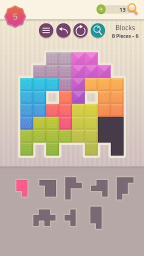 Polygrams - Tangram Puzzles - عکس بازی موبایلی اندروید