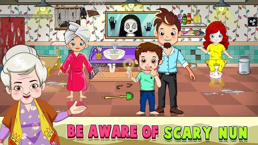 Mini Town- Horror Granny House - عکس بازی موبایلی اندروید