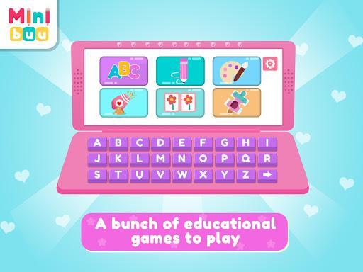 Princess Computer | girl games - عکس بازی موبایلی اندروید