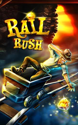 Rail Rush - عکس بازی موبایلی اندروید