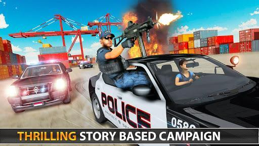 Police Fps Shooting Gun Games - عکس بازی موبایلی اندروید
