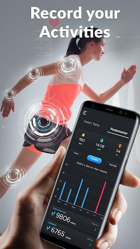 Heart Rate Monitor: Pulse Checker & Step Counter - عکس برنامه موبایلی اندروید