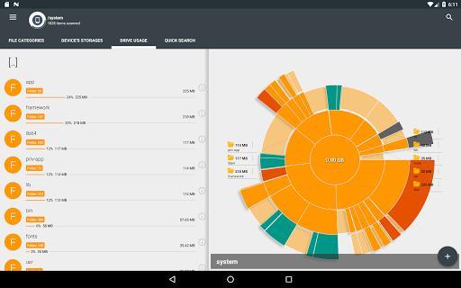 Storage Analyzer & Disk Usage - عکس برنامه موبایلی اندروید