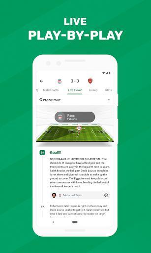 FotMob – نتایج زندهی فوتبال - عکس برنامه موبایلی اندروید