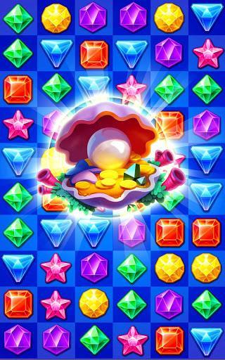 Jewels Track - Match 3 Puzzle - عکس بازی موبایلی اندروید