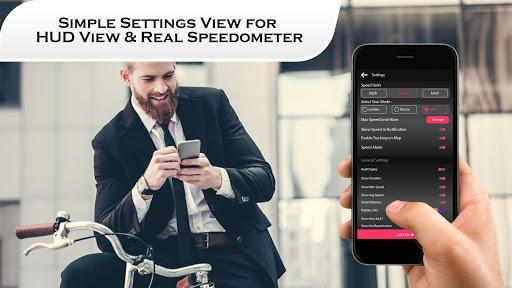 HUD Speedometer for Car – Compass Live Speed Meter - عکس برنامه موبایلی اندروید