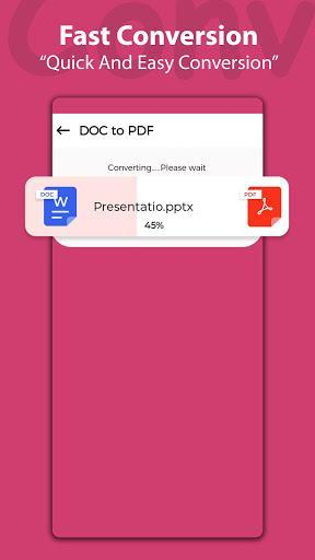PDF Converter File Reader & Image to PDF Converter - عکس برنامه موبایلی اندروید